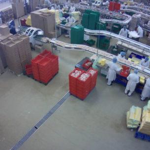Пример реализации видеонаблюдения на производстве